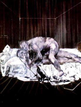 Dos figuras - Francis Bacon