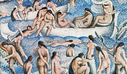 Bañistas de Es Llaner - Dalí