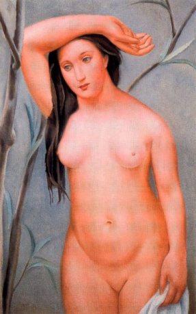 Desnudo con el brazo levantado - Josep de Togores