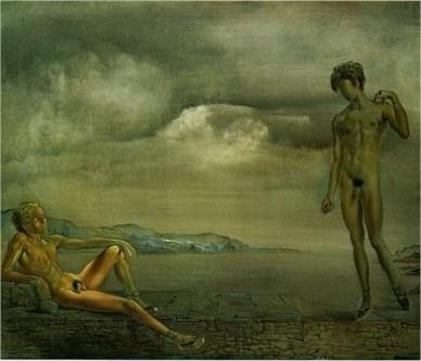 Dos adolescentes - Dalí