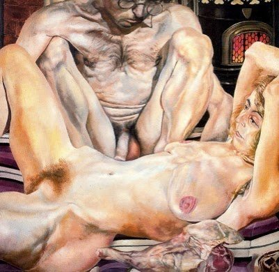 Doble retrato desnudo - Stanley Spencer