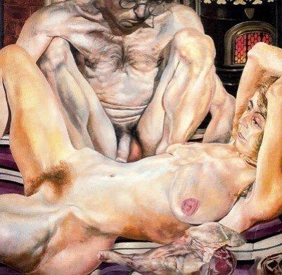 Doble retrato desnudo - Stanley Spencer