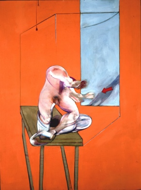Figura en movimiento - Francis Bacon
