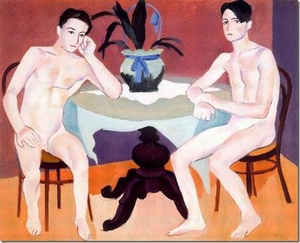 Hombres desnudos - Josep de Togores