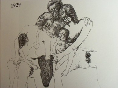 La caza de las mariposas - Dalí