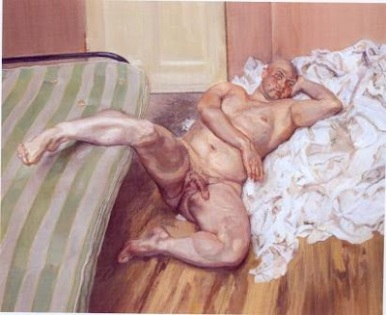 Leigh Bowery - Lucien Freud