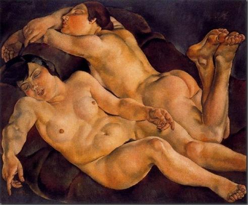 Mujeres dormidas - Josep de Togores