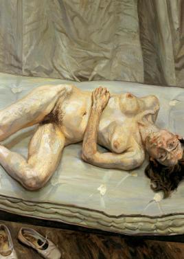 Retrato desnudo - Lucien Freud