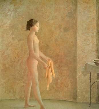 Desnudo de perfil             - Balthus