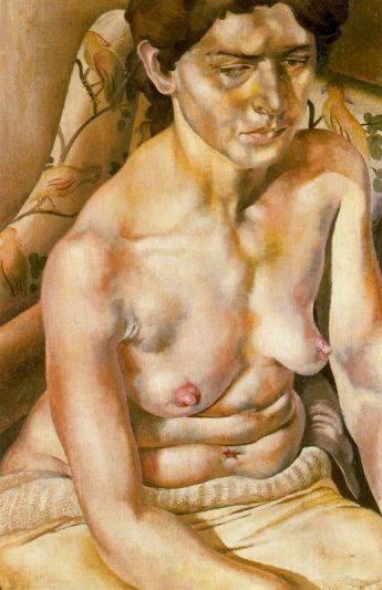 Desnudo sentado - Stanley Spencer