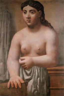 Desnudo de pié - Picasso