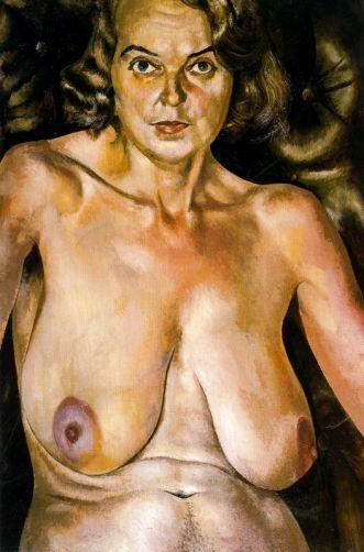 Retrato desnudo de Patricia Preese