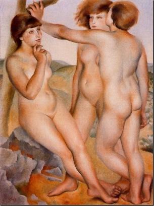 Tres desnudos - Josep de Tabares