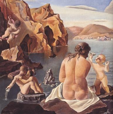 Venus con Cupido - Dalí