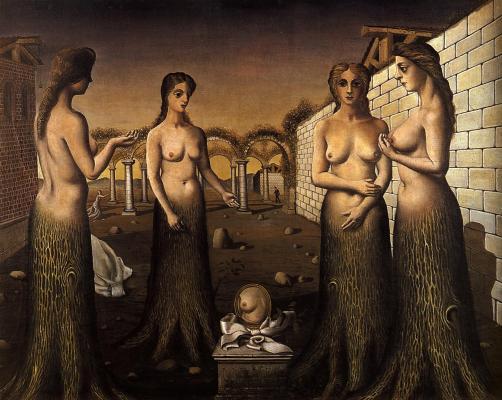 Mujeres árboles - Paul Delvaux