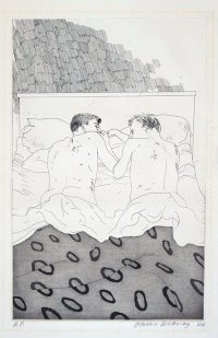 David Hockney: Two Boys Aged 23 or 24, 1966