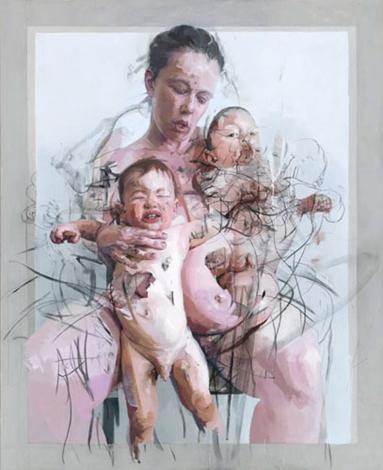 Las madres - Jenny Saville