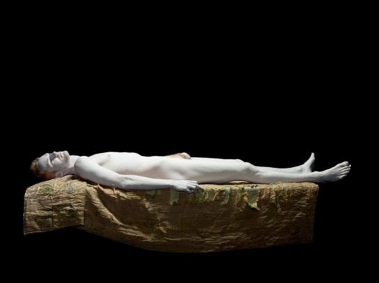 Nadav Kander - Inner Condition - Nude XIV (Paint)
