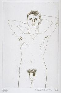 In an Old Book 1966 by David Hockney born 1937
