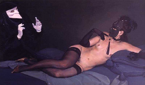 Desnudo Veneciano - Andrés García Ibáñez