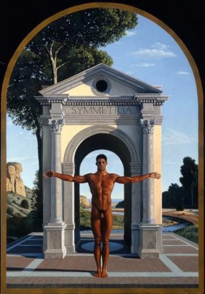 Simetría - David Ligare