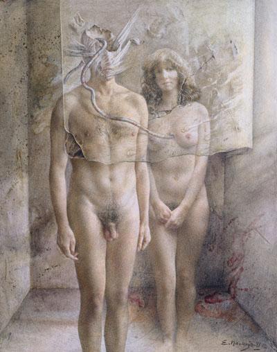 Hombre y mujer - Eduardo Naranjo
