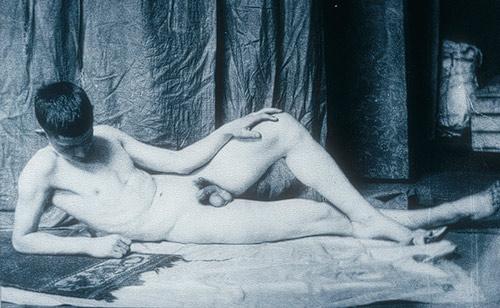 Retrato de hombre recostado, 1887 - Thomas Eakins
