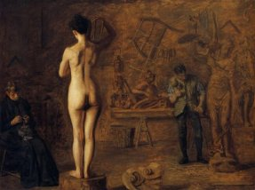 thomas-eakins-william-rush-carving-his-allegorical-figure-of-the-schuylkill-river
