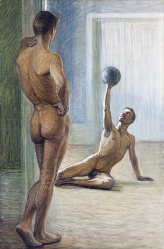 Eugéne_JANSSON_Atleti_1912_Prins-Eugens-Waldemarsudde_Stoccolma