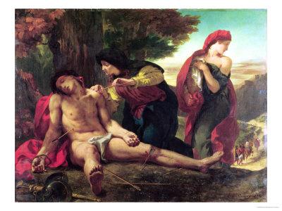 delacroix-eugene-st-sebastian-1836