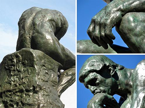 el pensador escultura museo collage auguste rodin detalle details le penseur-495.jpg
