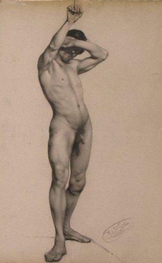 Nude with Arm Raised - Dibujo.jpg