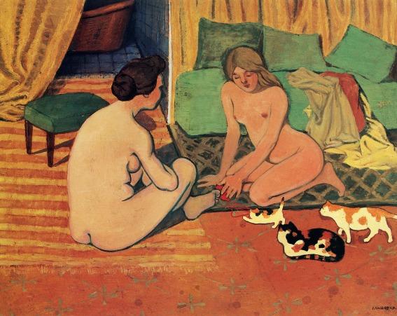 Mujeres desnudas con gatos.jpg