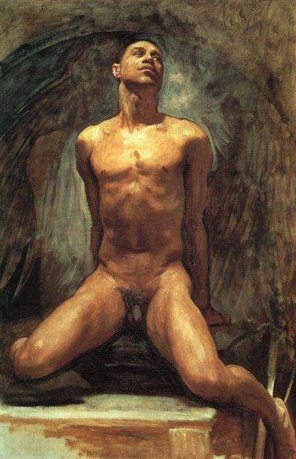 Nude Study of Thomas E McKeller 1917 .jpg