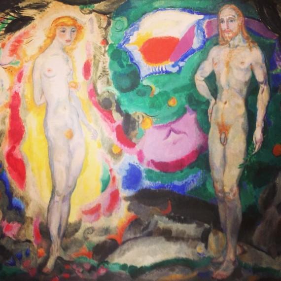 Adán y Eva, 1914-16.jpg
