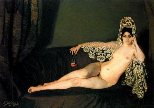 Desnudo de la mantilla y el clavel.jpg
