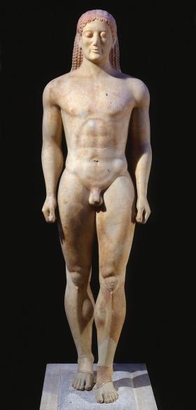 Kouroi de Aravyssos - Ática. 530 a.C.