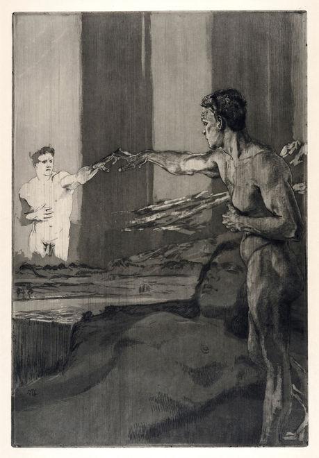 Opus-XIII-Vom-Tode-1910-planche-4-Philosoph-Philosophe.jpg