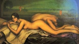 Julio Romero de Torres, Más allá del pecado, 1915