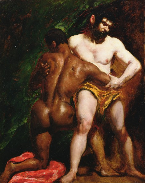 The_Wrestlers_by_William_Etty_YORAG_89.JPG
