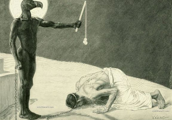 780 Sascha Schneider - 13 Mammon and His Slave 1896_zpsl335kyaw.jpg