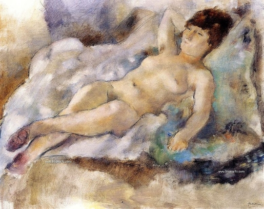 780 Jules Pascin - 42 Rebecca Lying Down 1927_zpsq86dl5o1.jpg