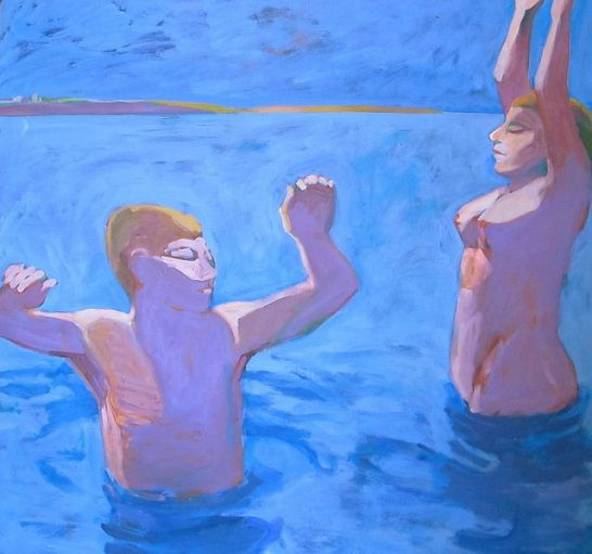 swimmer at Dawn (1964).jpg