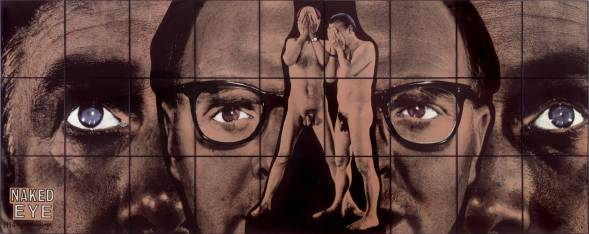 Naked Eye 1994 Gilbert & George born 1943, born 1942 Presented by the artists 1999 http://www.tate.org.uk/art/work/T07493