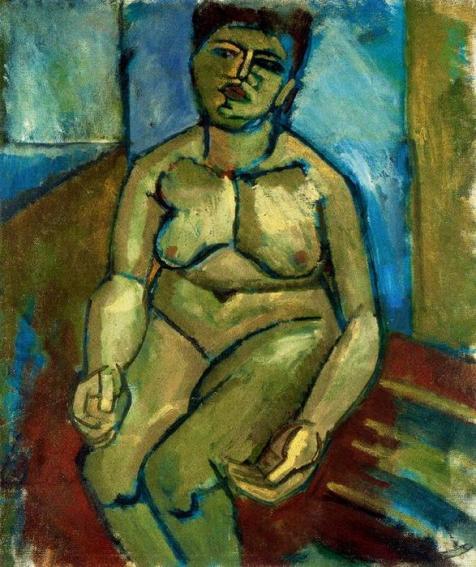 Desnudo sentado, 1909.JPG