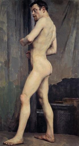 Akseli Gallen-Kallela - 14 Male Nude 1880.jpg