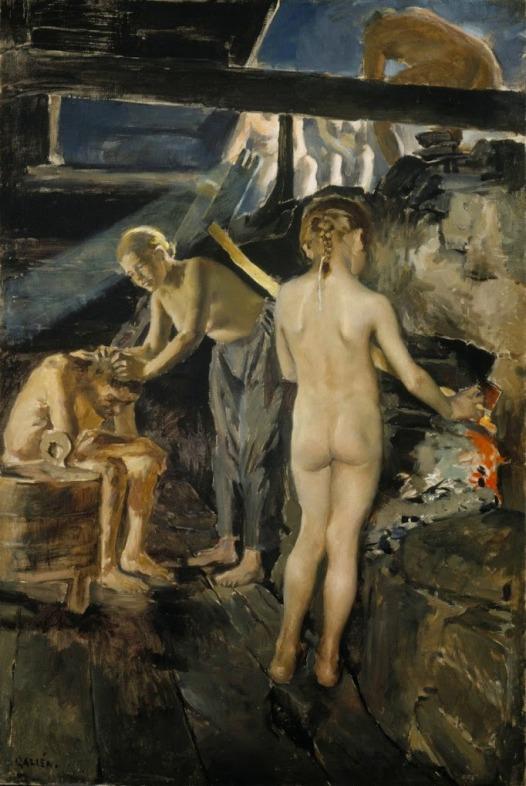 Akseli Gallen-Kallela - 7 In the Sauna 1889.jpg