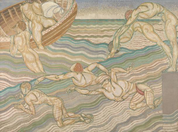 Bathing, 1911.jpg