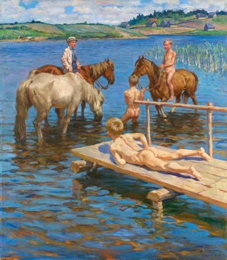 El baño de los caballos.jpg