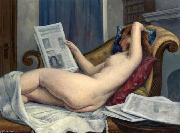 Leon_Kroll-Nude_Woman_Reading_A_Paper.JPG